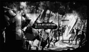 13.12% discount on all products in Ultras-Tifo Shop