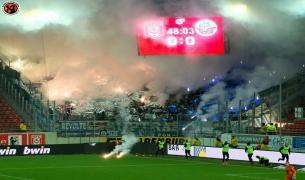 Hallescher FC - Hansa Rostock 01.12.2017