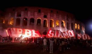 91st anniversary of AS Roma