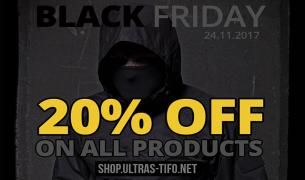 Black Friday in Ultras-Tifo shop