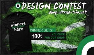 Design Ultras-Tifo t-shirt and win 100€!