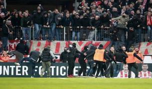 FC Köln ultras stole banner from Mönchengladbach fans