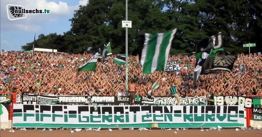 Overview: German 3rd division 2014/2015