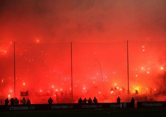 Paok Olympiakos: Ultras-Tifo Forum -> Greece February 2015