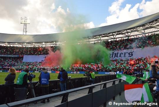 Feyenoord - Utrecht 24.04.2016
