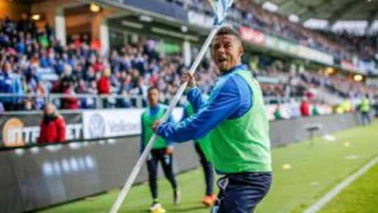Gothenburg-Malmo abandoned after firework explodes near the substitute