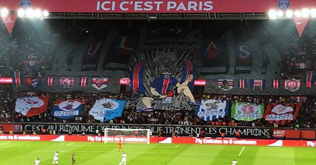 psg tifo game of thrones