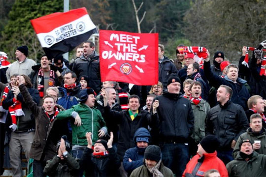 fc united of manchester fans