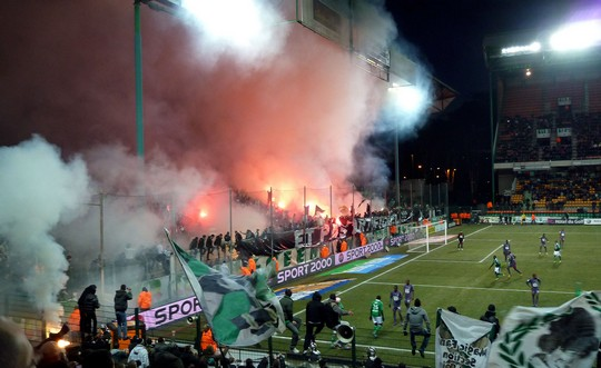 Green Angels St. Etienne 20 years celebration