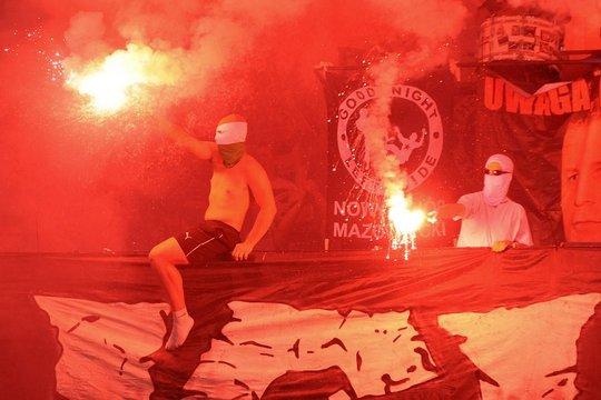 Польша:Погонь- Легия 27.07.2013