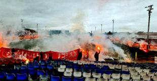 Shelbourne FC last training before play-off