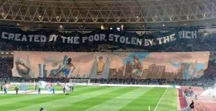 Famous choreo against modern football