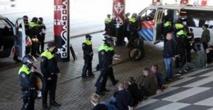 Feyenoord attack Ajax before cup final