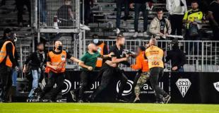 RIOTS: Angers - Marseille 22.09.2021