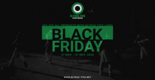 Black Friday in our shop: -40% on all Ultras-Tifo products