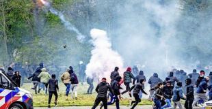 Feyenoord riots 08.05.2021