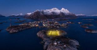 Top 5 stadiums in Lofoten (Norway)