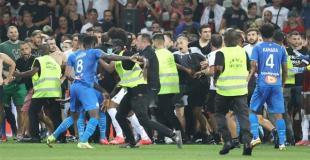 RIOTS: OGC Nice - Marseille 22.08.2021