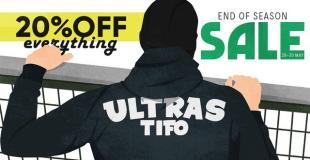 Ultras-Tifo Shop: End of season sale!