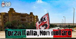 Solidarity message to Italian ultras