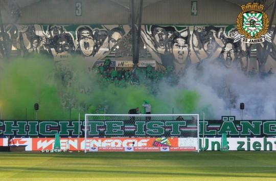 Rapid Wien Sturm Graz 20 10 2013