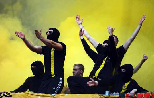 Borussia Dortmund Banned 3 Ultra Groups From Away Games